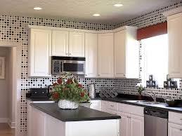 White Kitchen Decor Interior Ideas Beautiful Black And White Kitchen Design With 17