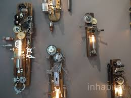 recycled lighting. Yiapa Steam Punk Recycled Light Fixtures Made Lighting