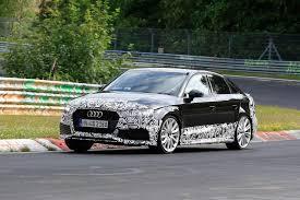 2017 Audi RS3 Sedan New Spy Shots - GTspirit