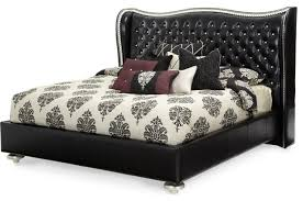 Aico Michael Amini Hollywood Swank Starry Night Upholstered Bed ...
