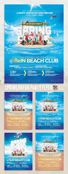 17 best images about party design flyers dj party spring break summer party flyer