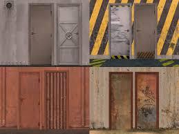 metal door texture. Nice Metal Door Texture And Mod The Sims 20 Recolor N