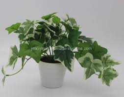 office bonsai. Artificial Plant Mini Office Bonsai English IVY Real Looking