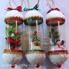 Decorated Plastic Bottles Recycled Christmas Decorations Using Plastic Bottles 92