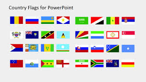 Country Flags Clipart For Powerpoint R To S