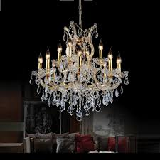 cwi lighting maria theresa 13 light gold chandelier