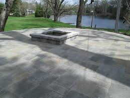 Wonderful Patio Ideas With Square Fire Pit Home Design To Modern