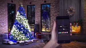 App Controlled Christmas Tree Lights You Can Now Control Your Christmas Tree Lights With Your Phone