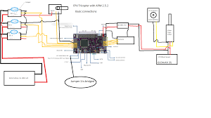 apm ardupilot tricopter project please check out my plan how to the wiring plan