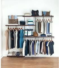 closetmaid shelftrack wire closet organizer kit nickel hangs rod system closetmaid shelftrack lengths closetmaid shelftrack 5 ft 8 ft closet organizer