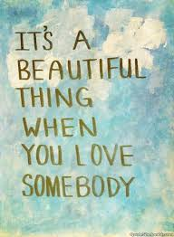 Love Is A Beautiful Thing Quotes Best Of It's A Beautiful Thing When You Love Somebody Love Quotes IMG