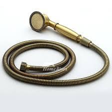 antique brass shower head uk delta