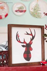 Wooden Christmas Sign With Lights 14 Diy Christmas Signs Wooden And Lighted Merry Christmas