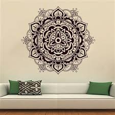 Small Picture Wall Decals Mandala Indian Pattern Yoga Oum Om Sign Decal Vinyl
