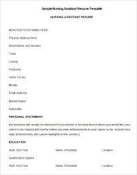 Nurse Resume Template Free Download Rn Templates Nursing Sample
