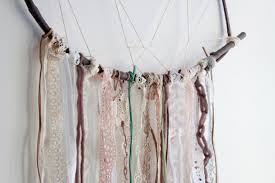 Tree Branch Dream Catcher The Forge DIY How To Make A Vintage Lace Dreamcatcher 15