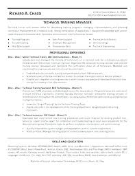 Technical Trainer Resume Call Center Trainer Resume Examples With Technical Trainer Resume
