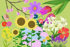 花イラスト 全て無料きれいで可愛いフリー素材集 チコデザ