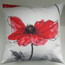 red poppy cushion cover 16 matches next curtains bedding