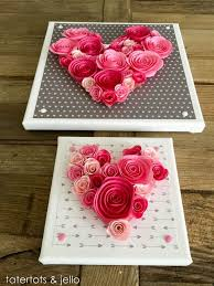 easy 10 minute valentines day wall art