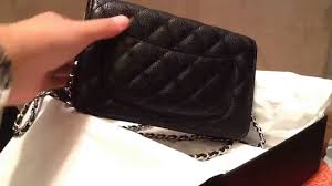 Reveal: Chanel W.O.C Black Quilted Caviar Silver Hardware - YouTube &  Adamdwight.com