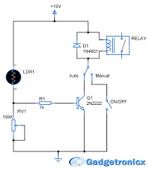 parking lights circuit diagram schematic or electronic design parking lights circuit diagram schematic or electronic design using ldr transistor lamp and relay building