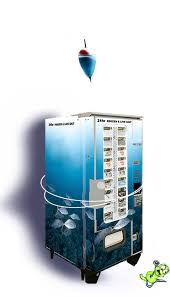 Fishing Vending Machine Amazing Bait 'N' Go