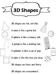 free 2d and 3d shapes worksheets