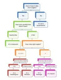 Quadrilateral Flow Chart Blank Quadrilateral Flow Chart Worksheets Teaching Resources Tpt