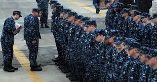 Good riddance, blueberries! Navy bids farewell to its worst <b>uniform</b> ...