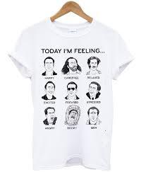 Nicolas Cage Emotion Chart Nicolas Cage Emotions Funny T Shirt