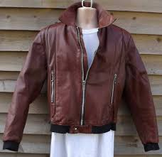vintage brown leather er jacket 42 belstaff motorcycle jackets hottest new styles