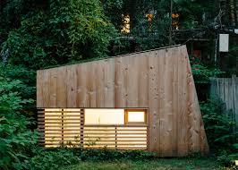 architect nicholas hunt creates a tiny retreat in his brooklyn garden