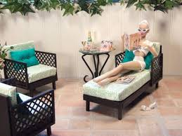 mid century dollhouse furniture. one spectacular abode barbie house furnituredoll mid century dollhouse furniture