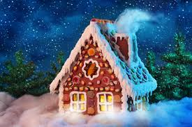 gingerbread house wallpaper. Plain Wallpaper Best Christmas Lights On Houses  House Design And Decorating Ideas Gingerbread  Landscapes Wallpaper Image T