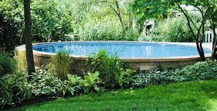 semi inground pools semi inground swimming pools t61