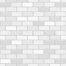 White Pattern Background Inspiration Seamless Vector White Brick Wall Background Pattern For Continuous