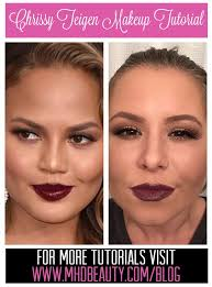 do your makeup like chrissy teigen from the oscars 2016 video tutorial on the