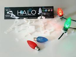 Halo Holiday Lighting Clips 100 Clips