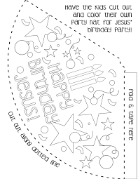 Party Hat Template Crossroads Community Church Party Hat Template 24
