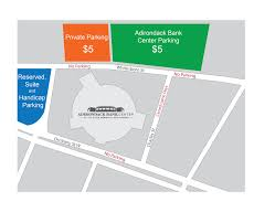 Adirondack Bank Center Seating Chart Parking Information Utica Comets Official Website
