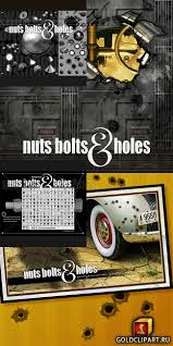 rons nuts bolts and holes brushesphoto brushes of nuts bolts and holes with little surprises a real time saver for designers and artists what s incl