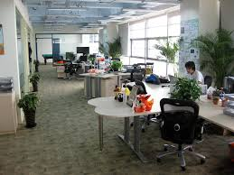 open office concept. open concept office
