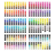 Create color palettes with the color wheel or image, browse thousands of color combinations from the adobe color community. Paint Color Chart Lovetoknow
