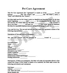 Dog Boarding Agreement Template Parsyssante