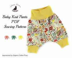Free Sewing Patterns Pdf Simple Free PDF Sewing Pattern For Baby Knit Pants Whimsy Couture Sewing