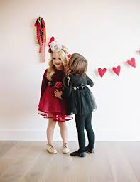 Share the most special messages with all their classmates through unique valentine's day cards for kids from minted! 4 Adorable Valentine S Day Outfit Styles For Girls Sandyalamode