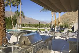 palm springs outdoor kitchen