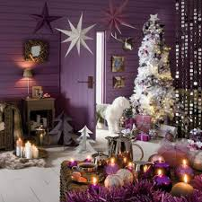 Xmas Living Room Christmas Living Room Decorating Ideas Home Amazing Small Purple