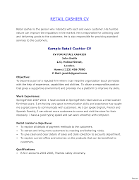 Grocery Store Cashier Resume Cashier Resume Examples Best Of Retail Objective Shalomhouseus 8